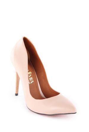 Piamia Kadın Ayakkabı 33111 Pudra