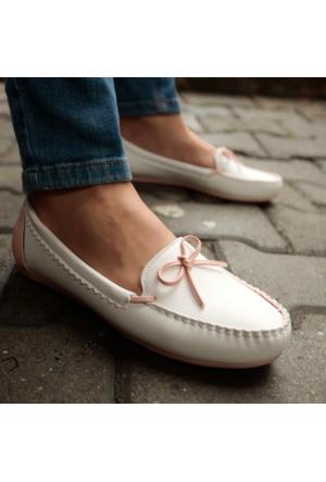 İnce Topuk Loafer Ayakkabı