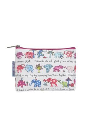 Tyrrell Katz Elephants Kozmetik Çantası - Filler