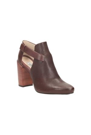Clarks Crumble Sugar Kadın Sandalet Koyu Kahverengi