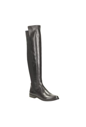 Clarks Bizzy Girl Kadın Çizme Siyah