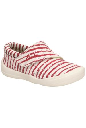 Clarks Briley Mae Fst Kız Çocuk Ayakkabı Kırmızı