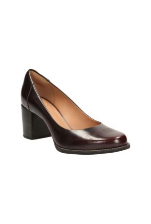 Clarks Tarah Sofia Kadın Ayakkabı Bordo