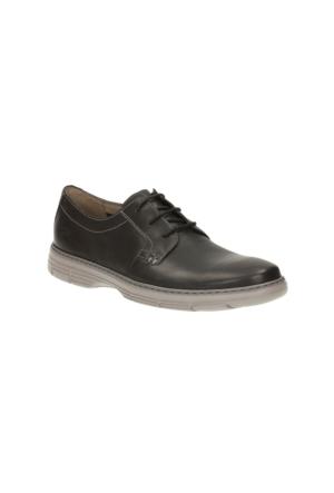 Clarks Watts Pace Erkek Oxford Ayakkabı Siyah