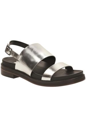 Clarks Zena Mae Kadın Sandalet Gümüş