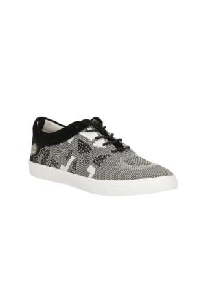 Clarks Glove Glitter Kadın Sneaker Ayakkabı Gri