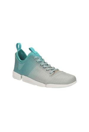 Clarks Tri Aerobic Kadın Sneaker Ayakkabı Gri