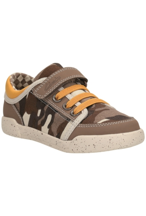 Clarks Kintor Go Inf Erkek Çocuk Ayakkabı Kahverengi
