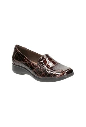 Clarks Gael Angora Kadın Loafer Ayakkabı Kahverengi