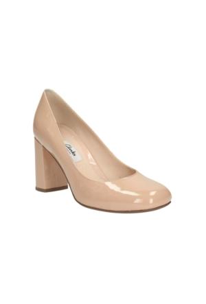 Clarks Gabriel Mist Kadın Ayakkabı Krem Rengi