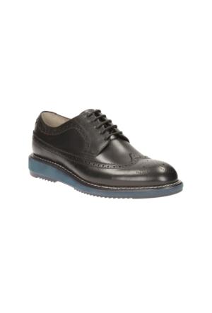 Clarks Kenley Limit Erkek Oxford Ayakkabı Siyah