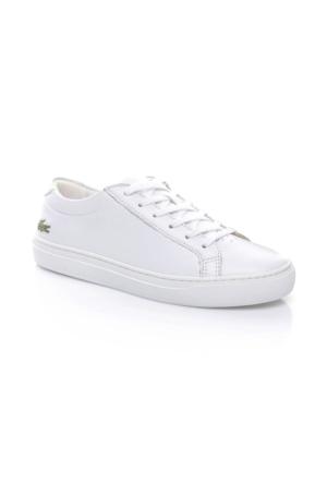 Lacoste L.12.12 Kadın Beyaz Sneaker Ayakkabı 733Caw1000.001