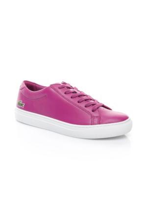 Lacoste L.12.12 Kadın Mor Sneaker Ayakkabı 733Caw1000.R56