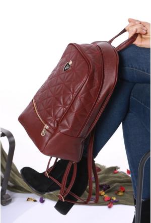 Avb Accessories Bordo Kadın Sırt Çantası-2501