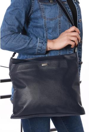 Avb Accessories Lacivert Omuz Askılı Kadın Çanta-2518
