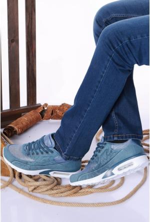Kaya Dericilik Petrol Erkek Spor Ayakkabı-535