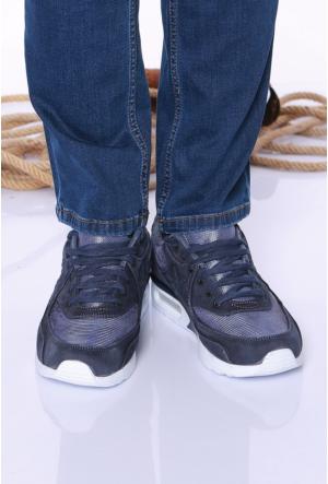 Kaya Dericilik Lacivert Erkek Spor Ayakkabı-535