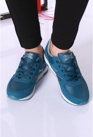 Kaya Dericilik P.Yeşil Kadın Spor Ayakkabı-742