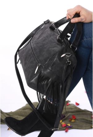 Ytşbag Siyah Kadın El Çantası-217