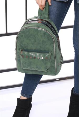 Ytşbag Yeşil Kadın Sırt Çantası-210