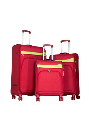 Verage Kumaş Set Vrg16009-Set Kırmızı