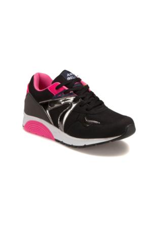 Art Bella GNS20 Siyah Pembe Kadın Sneaker Ayakkabı