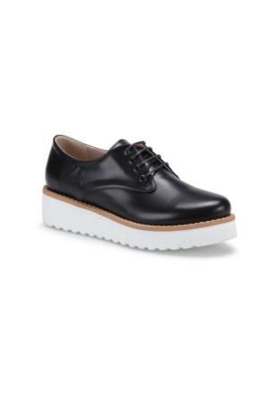 Butigo S1018 Siyah Kadın Maskulen Ayakkabı