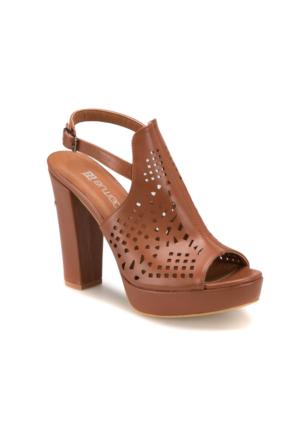 Butigo S1121 Taba Kadın 403 Sandalet