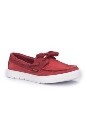 Dockers 222533 Bordo Erkek Marin Ayakkabı