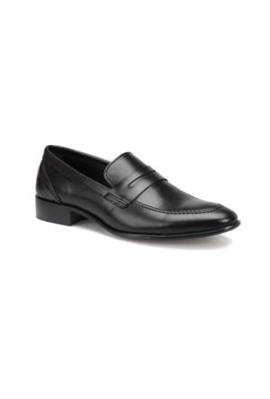 Garamond 4656 M 1602 Siyah Erkek Klasik Ayakkabı