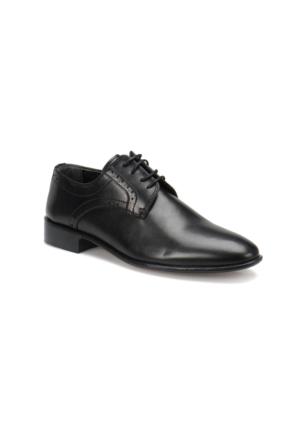 Garamond 4659 M 1602 Siyah Erkek Klasik Ayakkabı
