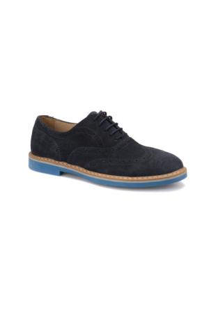 Garamond 61104 M 1506 Lacivert Erkek Deri Modern Ayakkabı