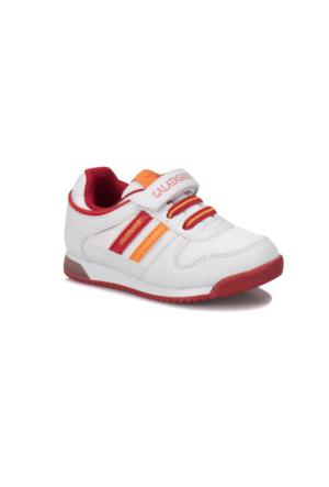 Kinetix Femand GS Beyaz Kırmızı Sarı Erkek Çocuk Sneaker Ayakkabı