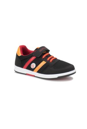 Kinetix Upton GS Siyah Kırmızı Sarı Erkek Çocuk Sneaker Ayakkabı