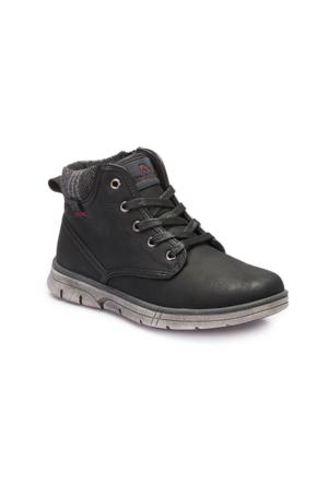 Lumberjack A3374104 Siyah Erkek Çocuk Sneaker Ayakkabı