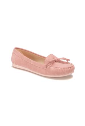 Miss F DS17031 Pembe Kadın Loafer Ayakkabı
