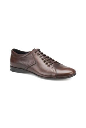 Oxide LX1800 M 1602 Kahverengi Erkek Deri Klasik Ayakkabı