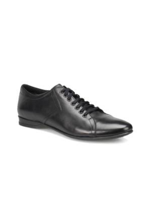 Oxide LX1800 M 1602 Siyah Erkek Deri Klasik Ayakkabı