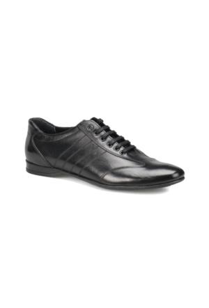 Oxide LX1908 M 1602 Siyah Erkek Deri Klasik Ayakkabı