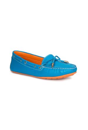 Polaris 71.155556.Z Mavi Kadın Ayakkabı
