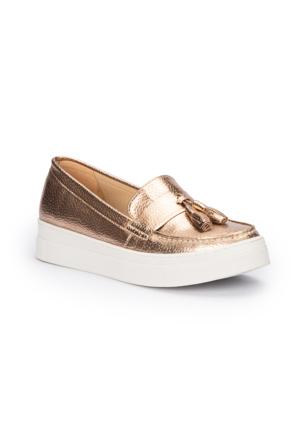 Polaris 71.310090.Z Altın Kadın Ayakkabı