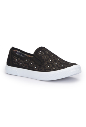 Polaris 71.354906.Z Siyah Kadın Ayakkabı
