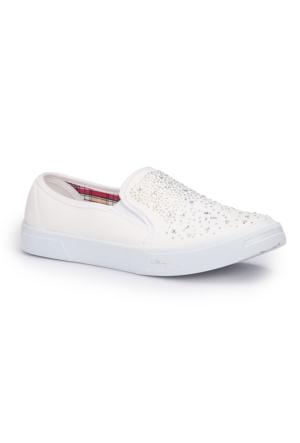 Polaris 71.354910.Z Beyaz Kadın Ayakkabı