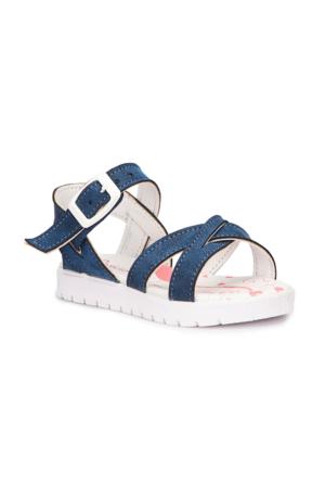 Polaris 71.508159.B Lacivert Kız Çocuk Sandalet