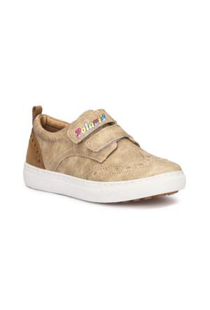 Polaris 71.509127.P Kum Rengi Erkek Çocuk Sneaker Ayakkabı