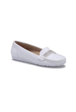 Travel Soft TS16SS102 Beyaz Kadın Ayakkabı