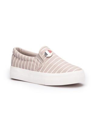 U.S. Polo Assn. Mocking Gri Kadın Sneaker Ayakkabı
