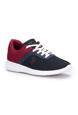 U.S. Polo Assn. Mykonos Lacivert Kadın Sneaker Ayakkabı