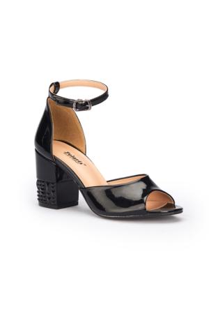 Polaris 71.309846.Z Siyah Kadın Ayakkabı
