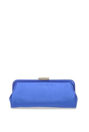 Roman Kadın Mavi Çanta